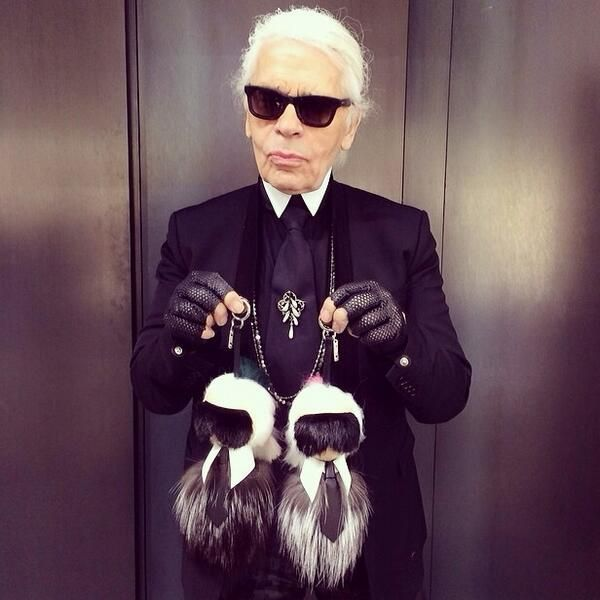 Derek Blasberg On Fendi Clothing Karl Lagerfeld And Fur - Porte clé fendi