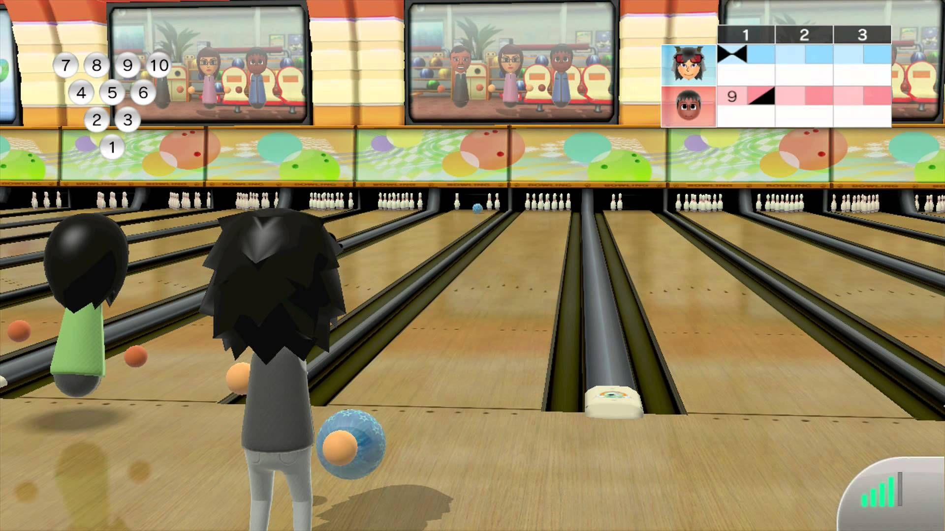 Wii Bowling screenshot Wii, Bowling, 10 things