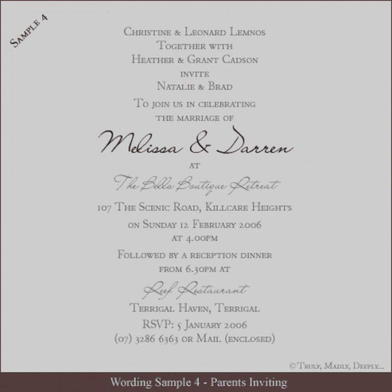 Pin On Wedding Invitation Template
