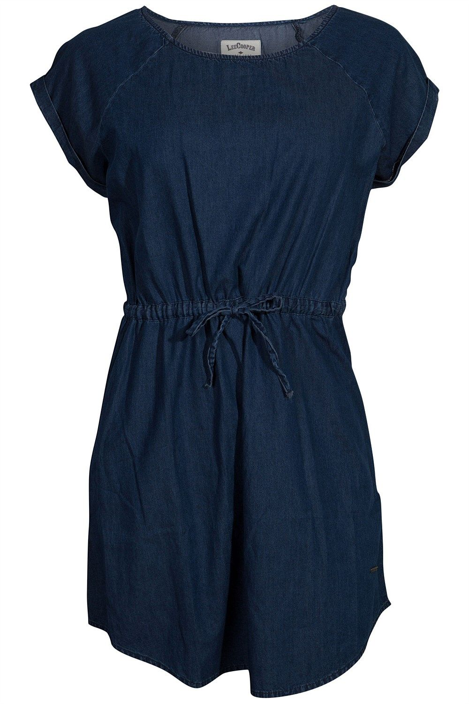 Dresses - Lee Cooper Short Sleeve Chambray Dress - BIG W | Pretty ...