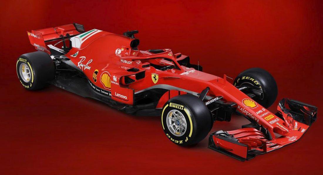 Ferrariu0027s 2018 SF71H To Chase Championship Glory #news #F1