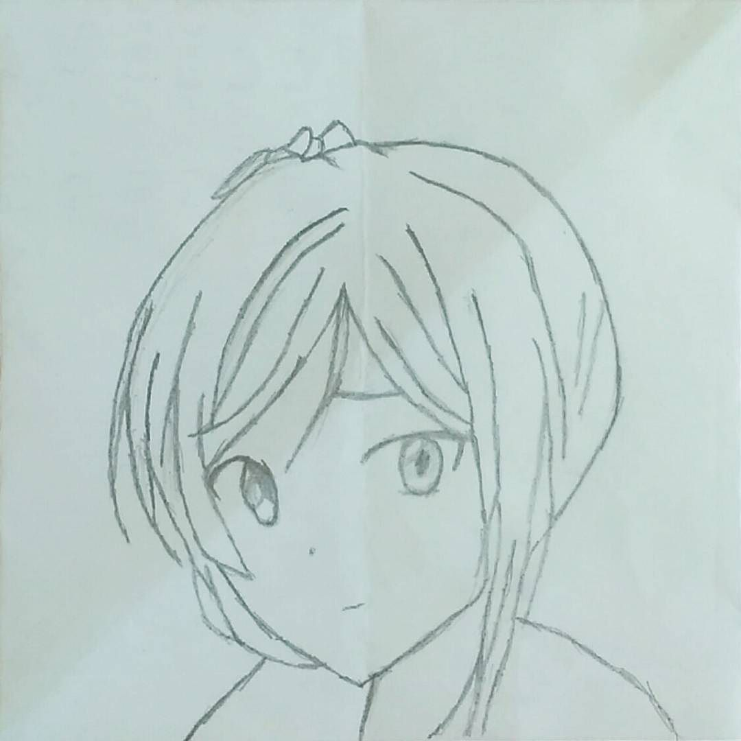 Maki Nishikino From Love Life Her Right Eye Seems Weird Actually Lovelive Makinishikino Nishikinomaki Anime Animes Animegirl A Gambar Pensil Gambar
