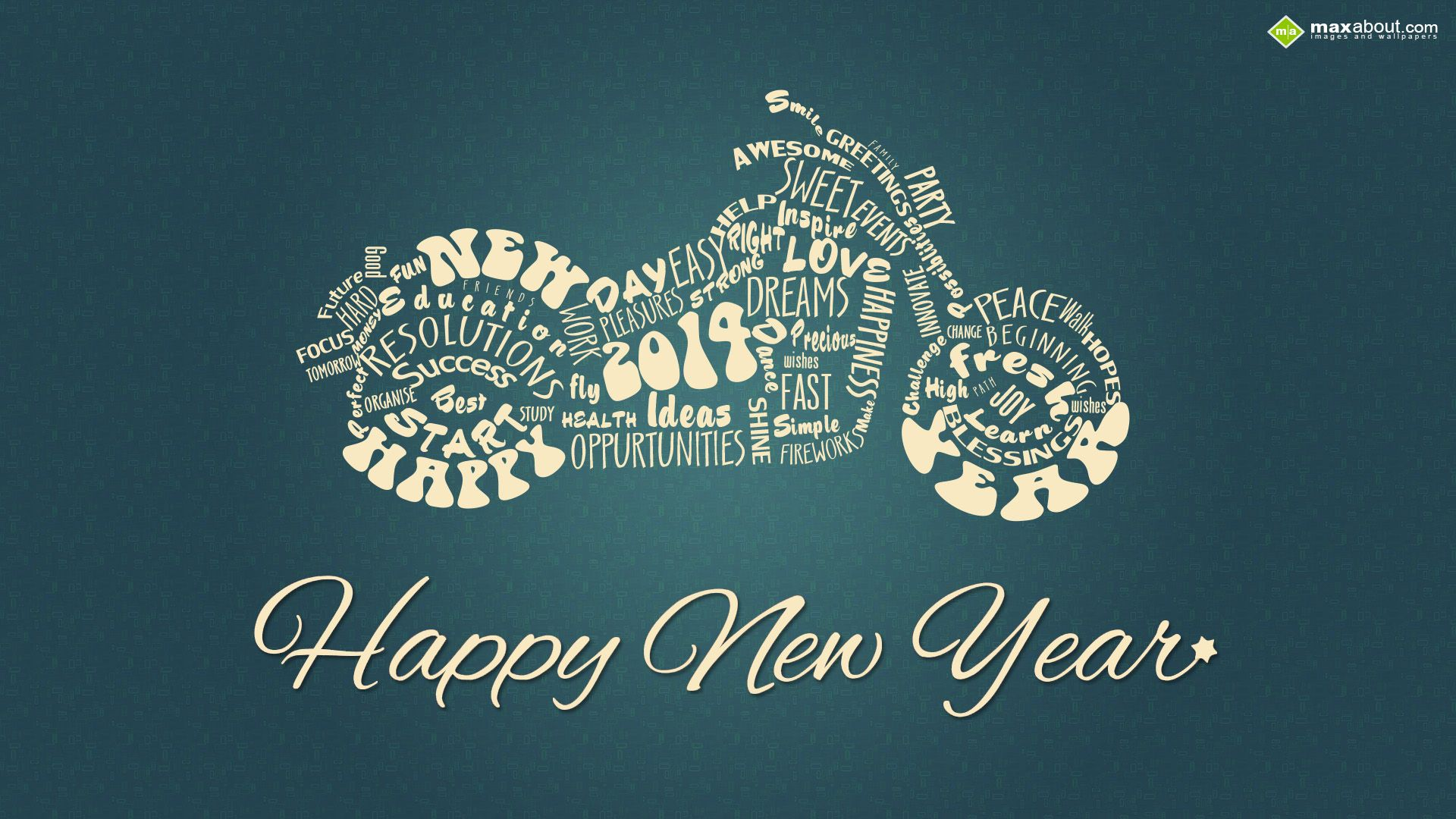 Happy New Year Cruiser Bike Wallpaper With Images Happy New