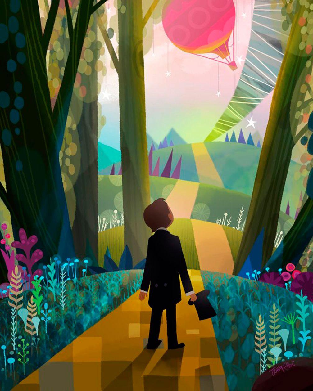 Art Of Animation - Joey Chou Illustration