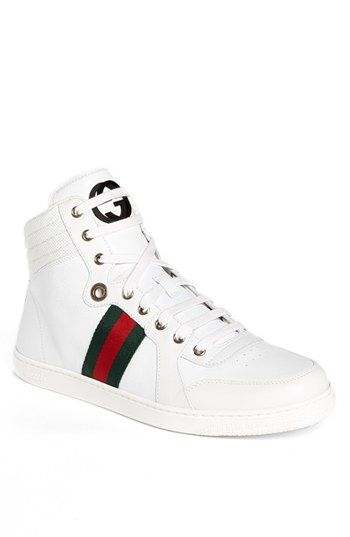 gucci shoes high top white. gucci \u0027coda\u0027 high top sneaker available at #nordstrom shoes white e