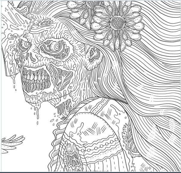Beauty-of-Horror-Sample5.jpg (605×580) | Dark coloring ...