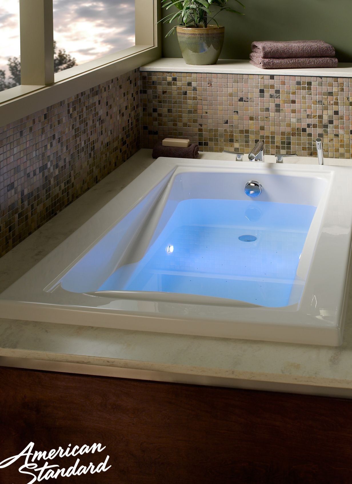 American Standard Green Tea Bathtub | Our Baths | Pinterest ...