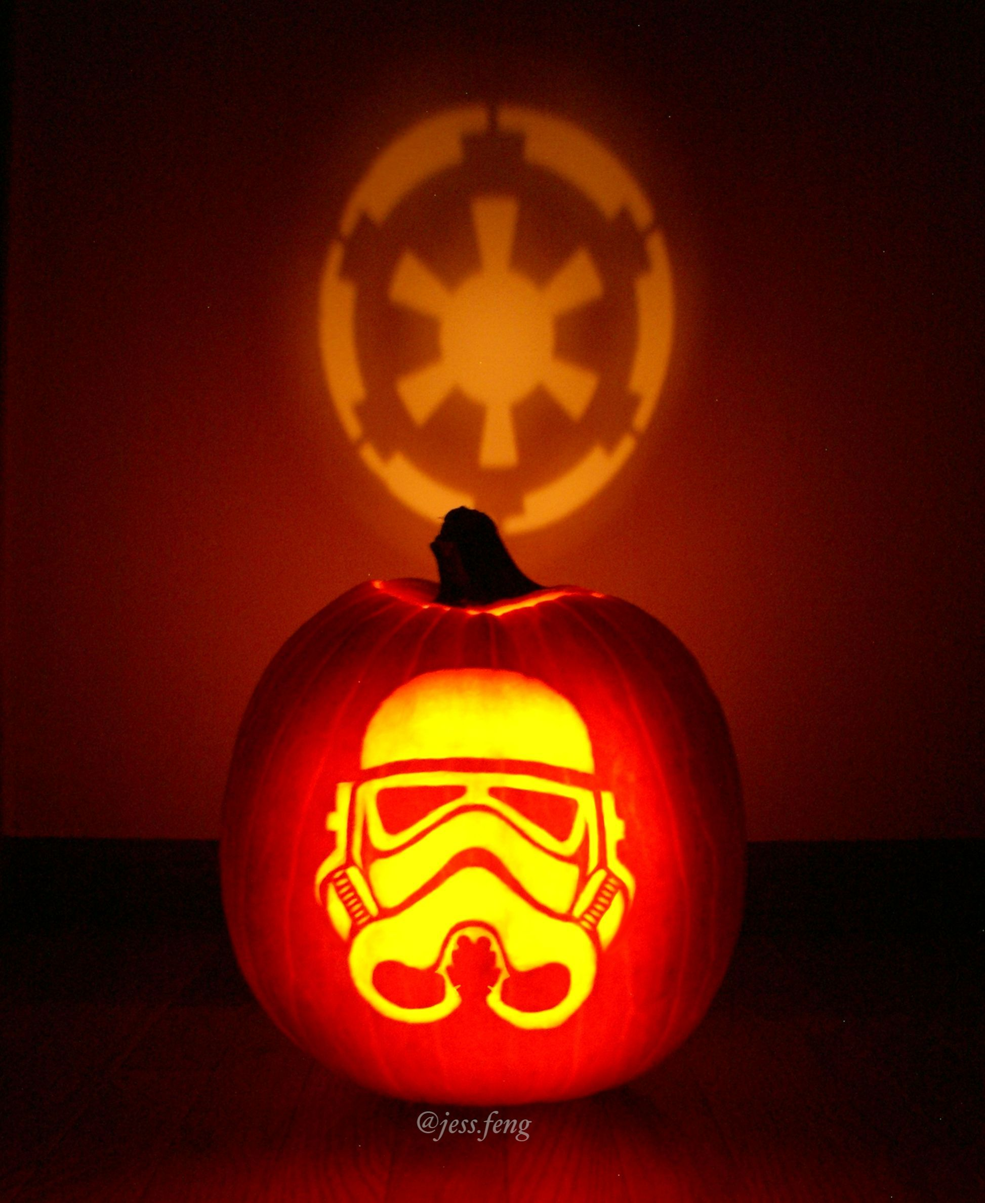 My Stormtrooper Pumpkin Stormtrooper Pumpkin Pumpkin Carving