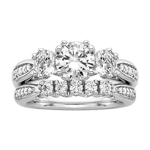 Fred Meyer Jewelers 2 18 ct tw Diamond Wedding Set My Style