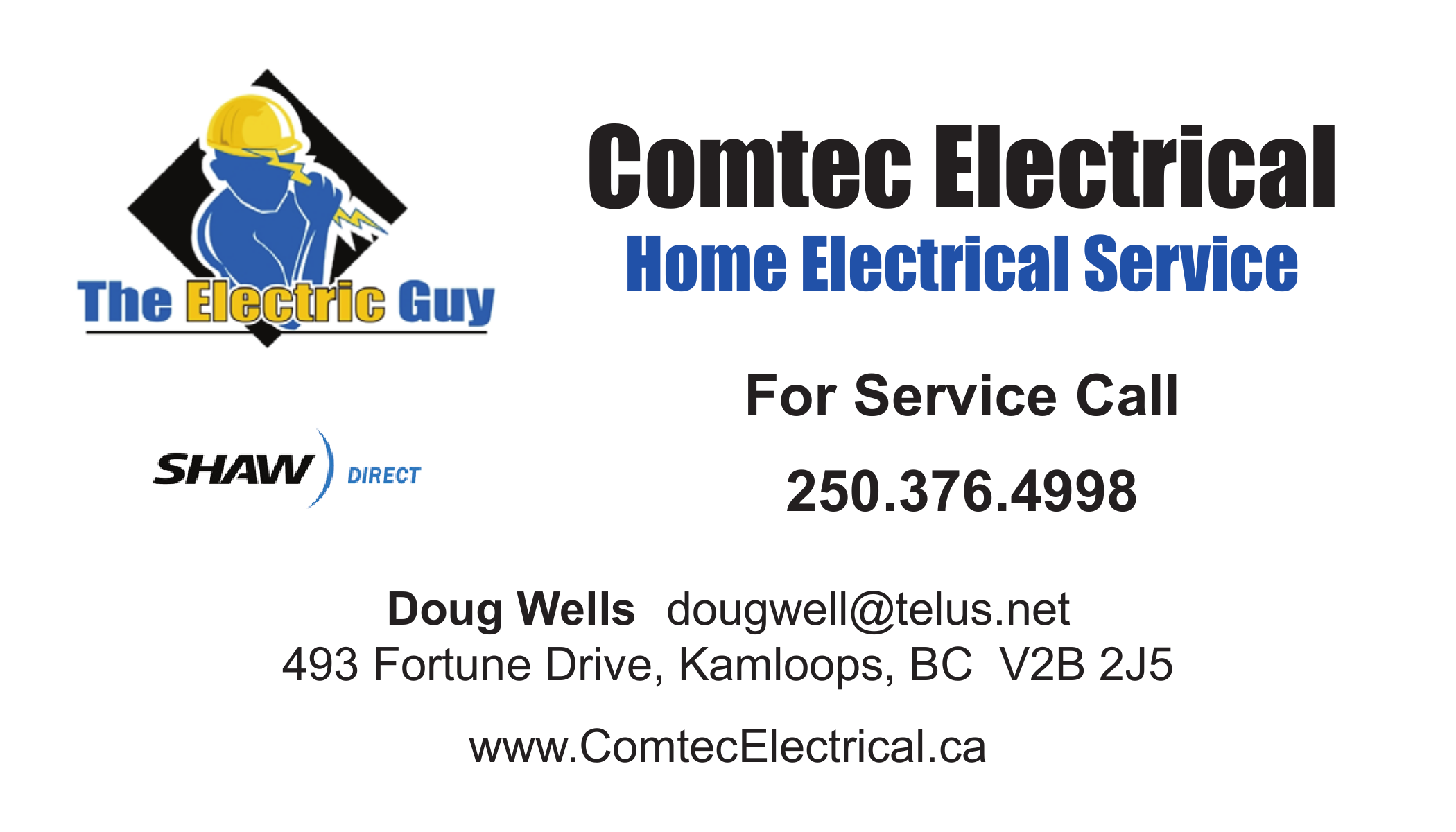 Comtec Electrical Theelectricguy On Pinterest Aluminum Wiring In Homes Bc