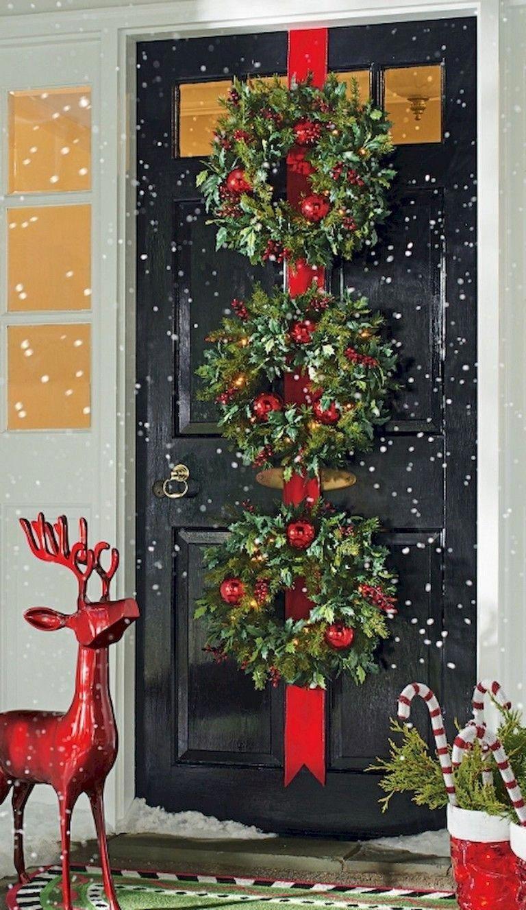 26 Inspirierende Ideen Fur Weihnachtsdekorationen Im Freien Christm Christmas Decorations Diy Outdoor Outdoor Christmas Decorations Outdoor Christmas Party