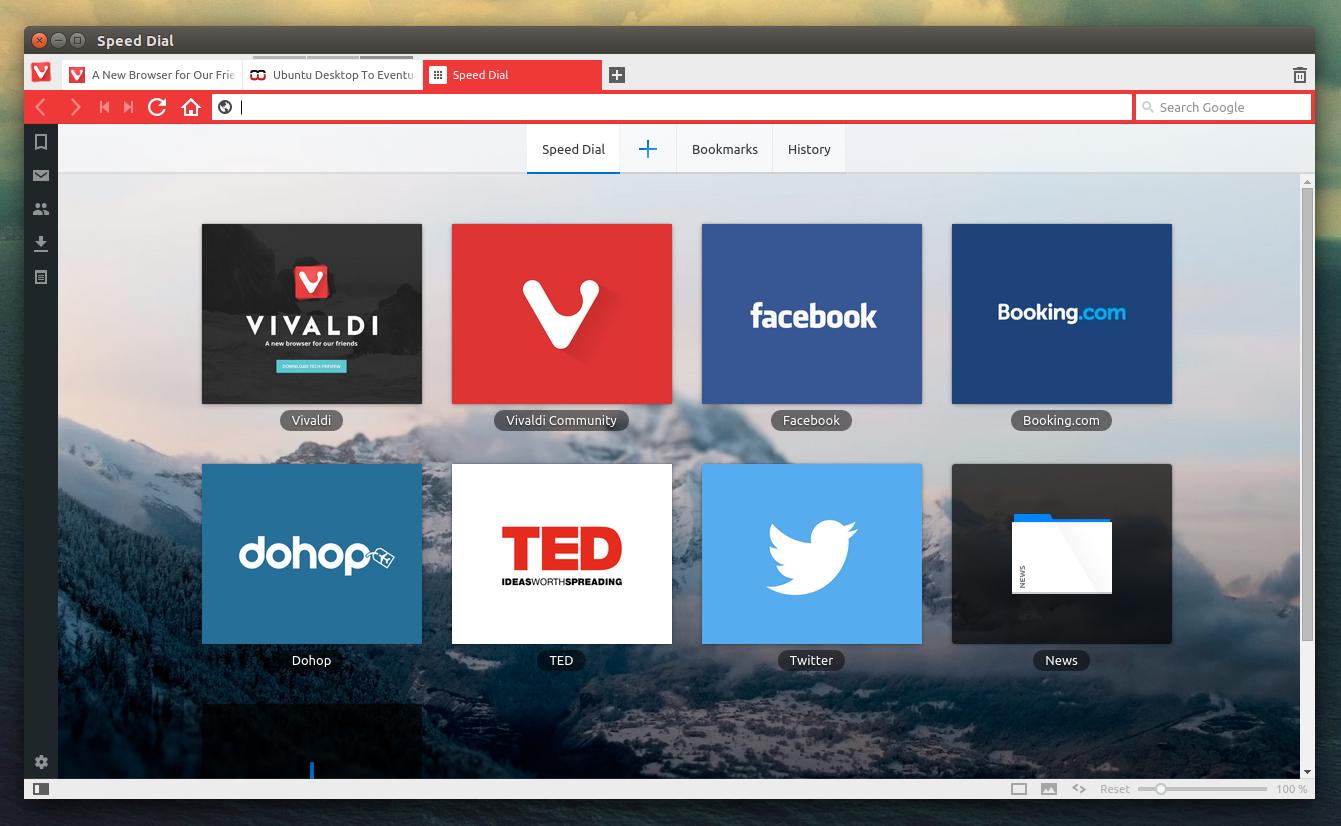 Introducing Vivaldi Browser Web browser, Browser