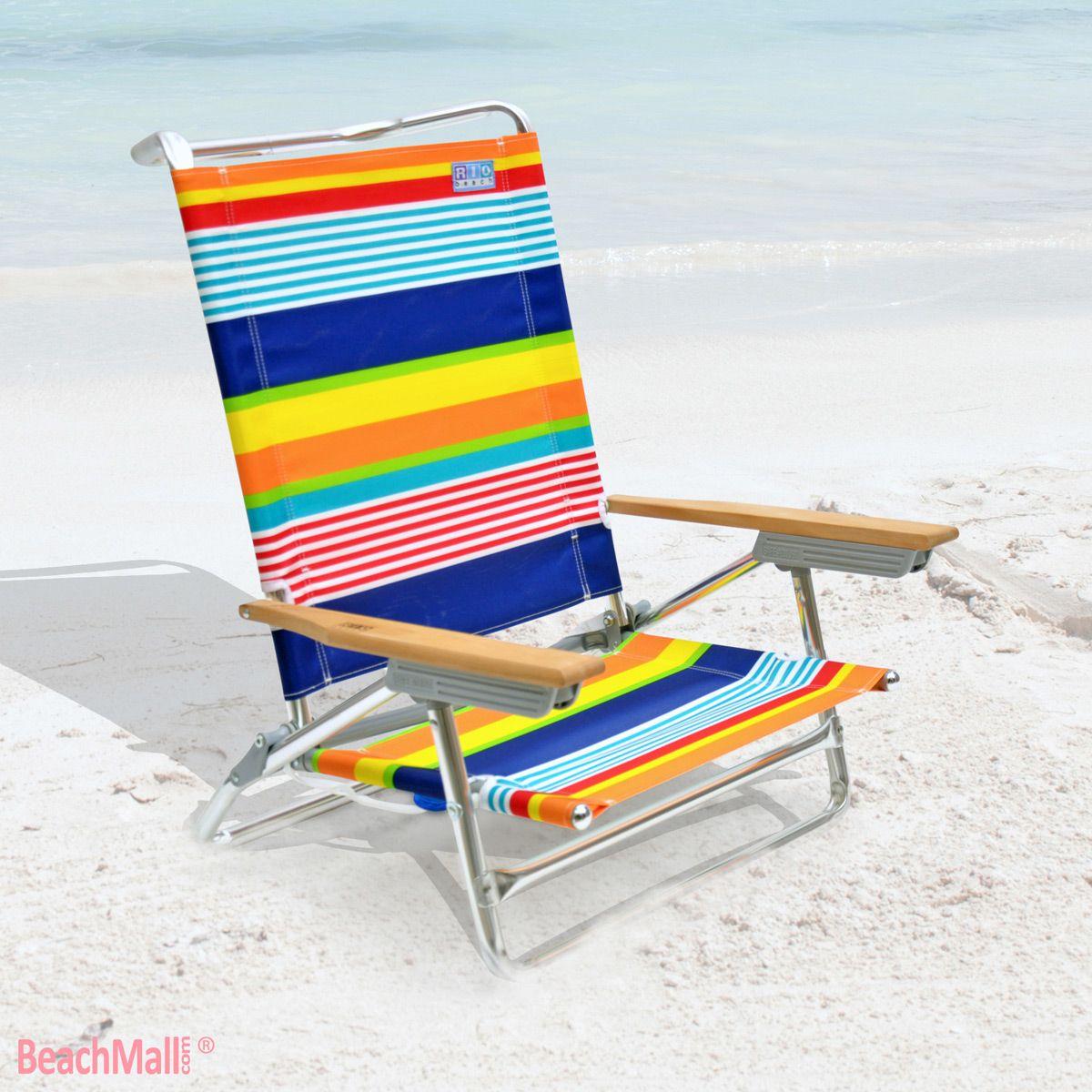 Charmant High Back Rio Beach Chair   5 Position @BeachMall.com