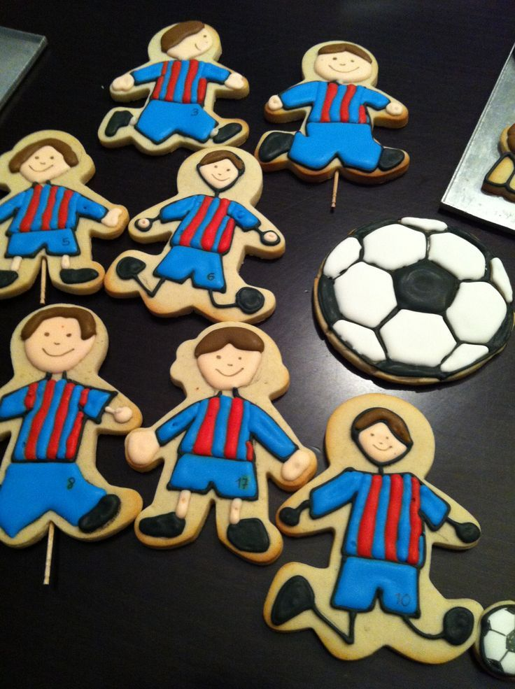 Pin De Giselle Bueno En Decoracion Fiesta Futbol Galletas