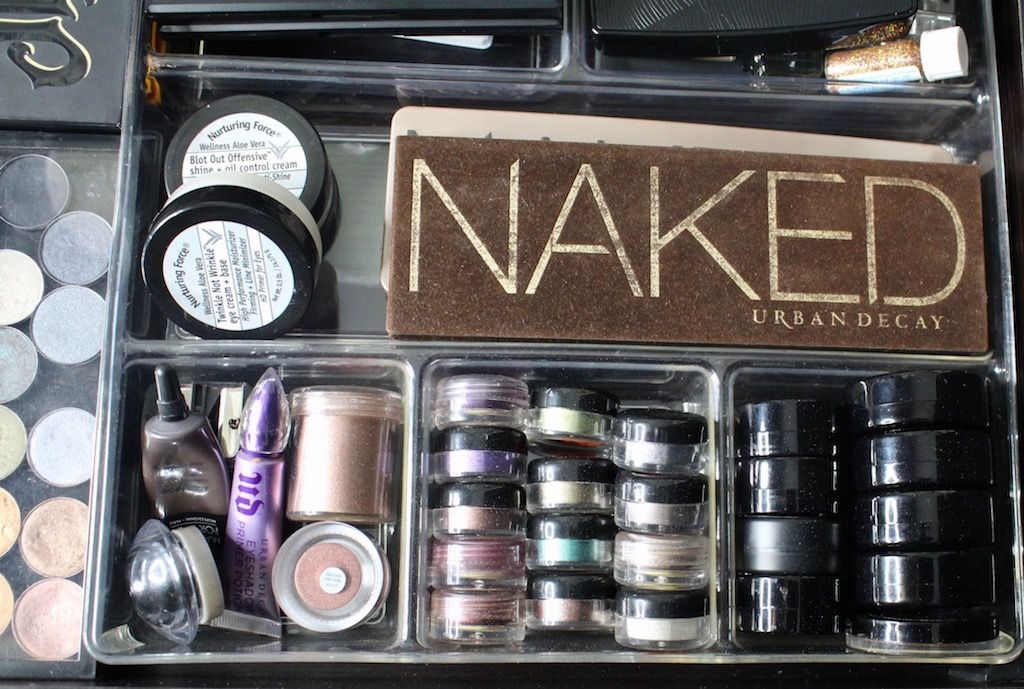 My Beauty Corner + How To Organize Your Makeup In A Small Space images