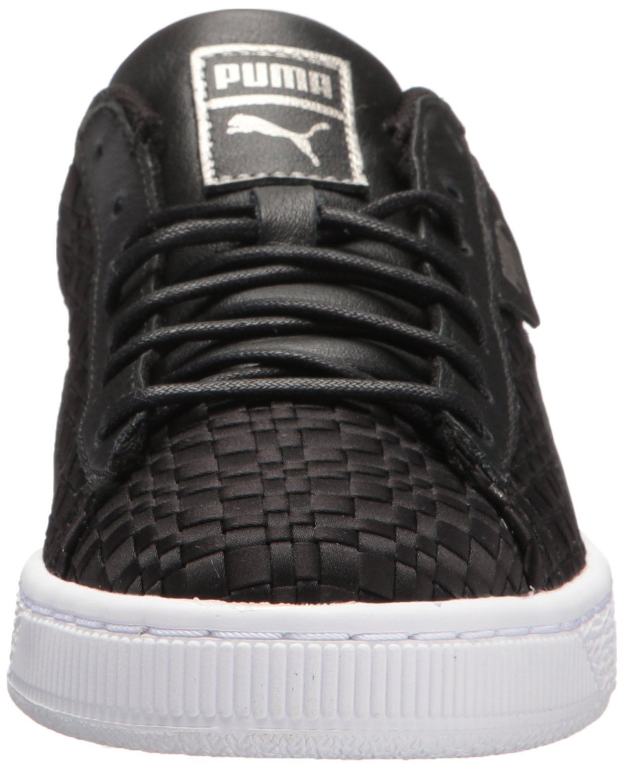 05c81ed49426 PUMA Womens Basket Satin En Pointe Wn Sneaker Black White 11 M US   More  info could be found at the image url. (This is an affiliate link)   ...