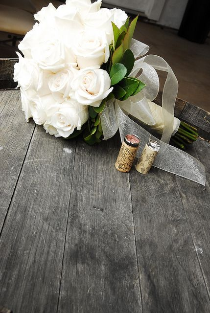pretty vineyard wedding shot