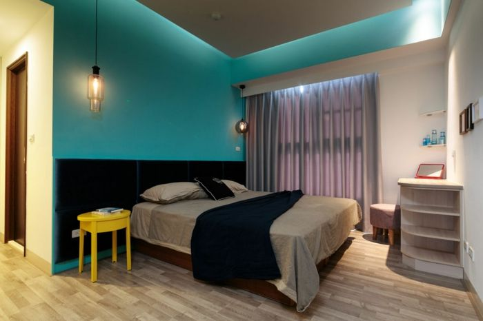 Chambre bleu canard : 30+ idées d\'aménagement à ne pas manquer ...
