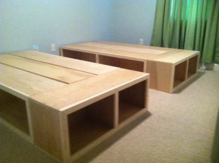 Best Storage Beds Do It Yourself Home Projects From Ana White 400 x 300