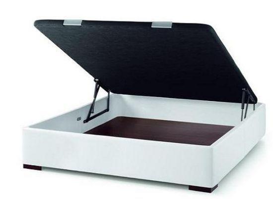 canap abatible kit excelente y practico canap abatible en tejido simillpiel con tapa tapizada. Black Bedroom Furniture Sets. Home Design Ideas