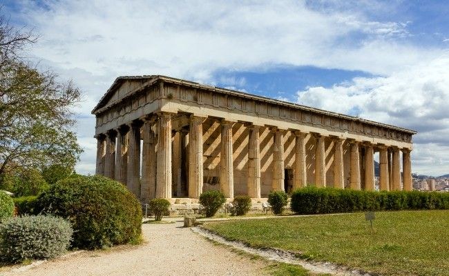Temple Of Hephaestus Athens Greece Athens Ancient Greek