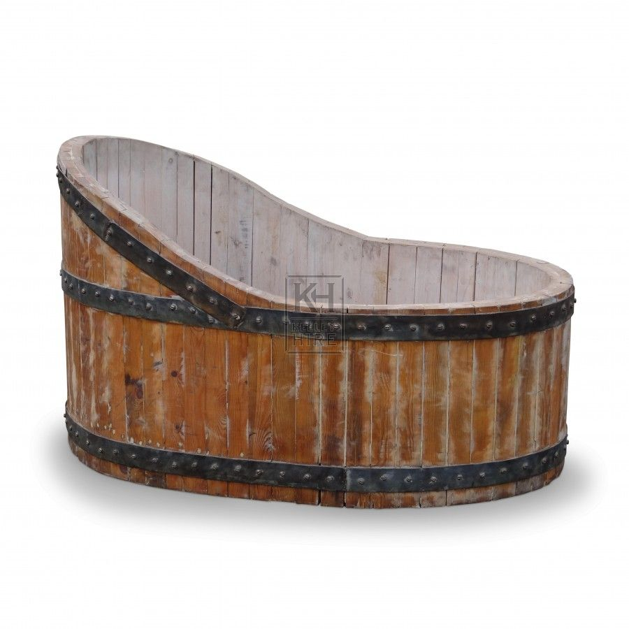 Props Bath Tubs Large Wooden