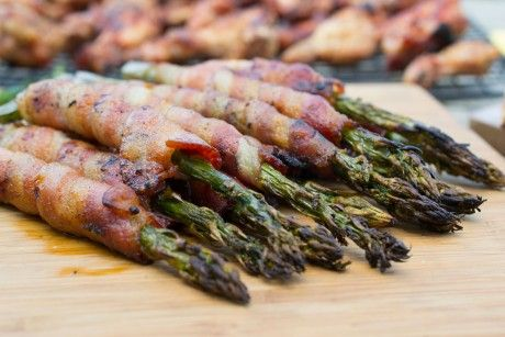 Pellet BBQ Bacon Wrapped Asparagus   Pit Boss Grills ...
