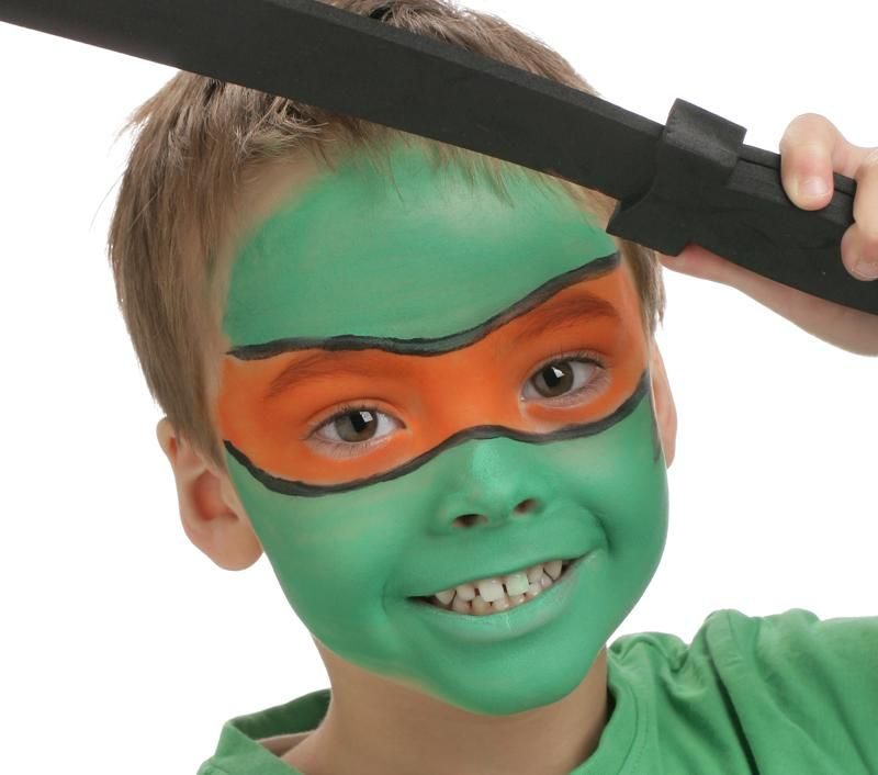 grimtout maquillage l 39 eau tortue ninja tape 4. Black Bedroom Furniture Sets. Home Design Ideas