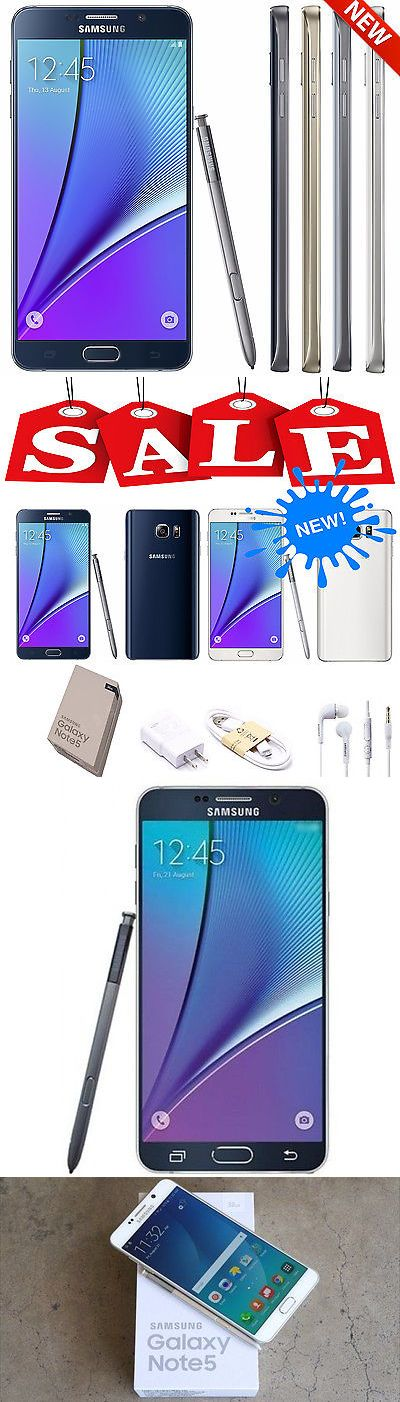 Cell Phones and Smartphones 9355: New Samsung Galaxy Note 5