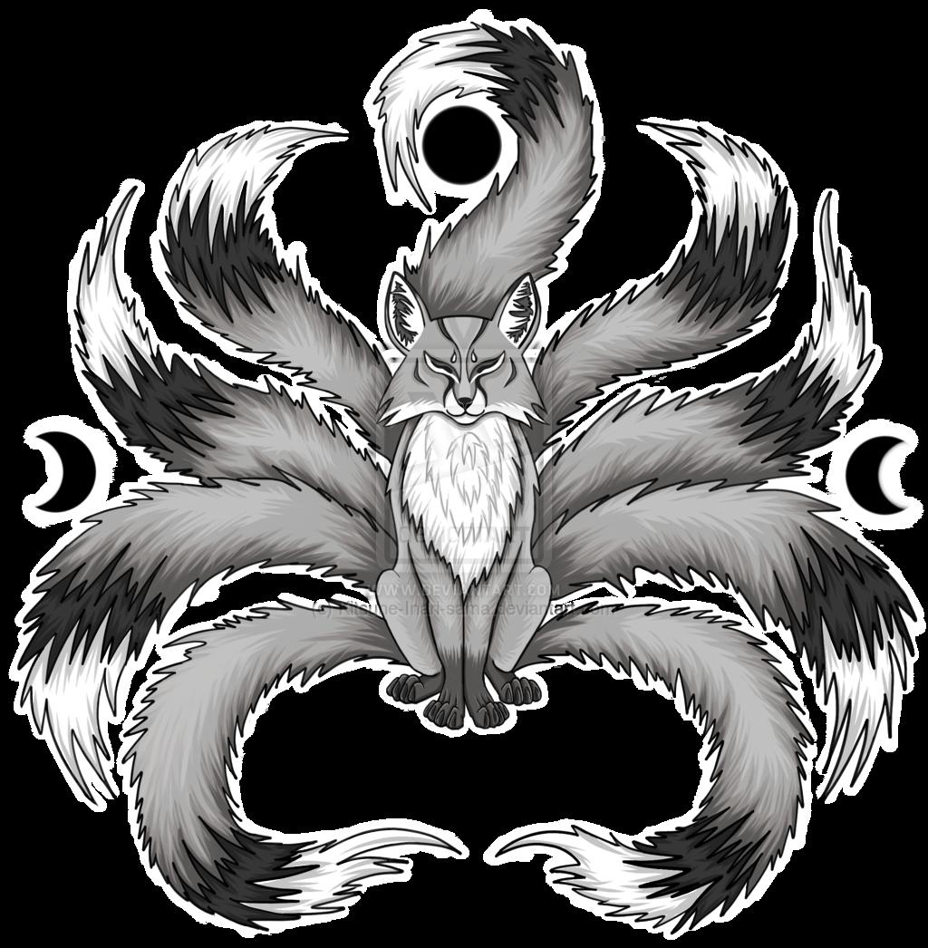 Kitsune drawing white kitsune fox images for kitsune fox tattoo ideas in 2018 pinterest - Dessin renard ...