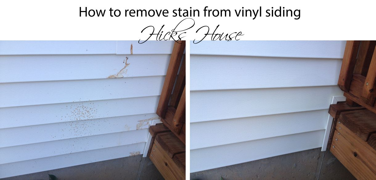 How To Remove Deck Stain From Vinyl Siding Hicks House Vinyl Siding