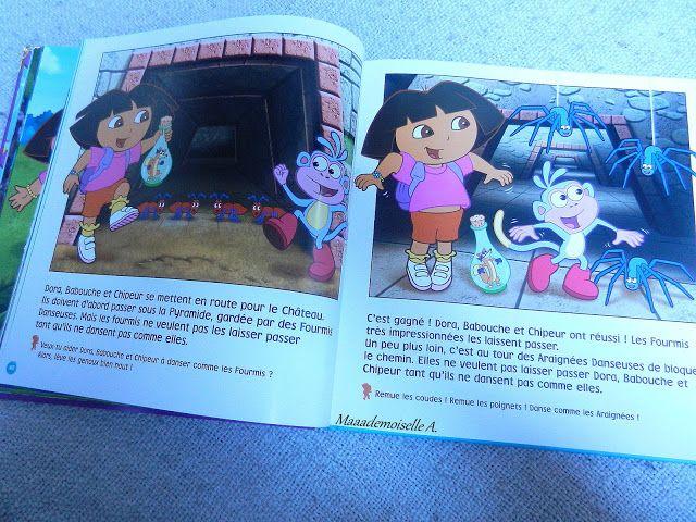 Dora L Exploratrice Les Merveilleuses Aventures De Dora Presentation Avis Chut Les Enfants Lisent 23 Dora L Exploratrice Enfants Lisant Dora