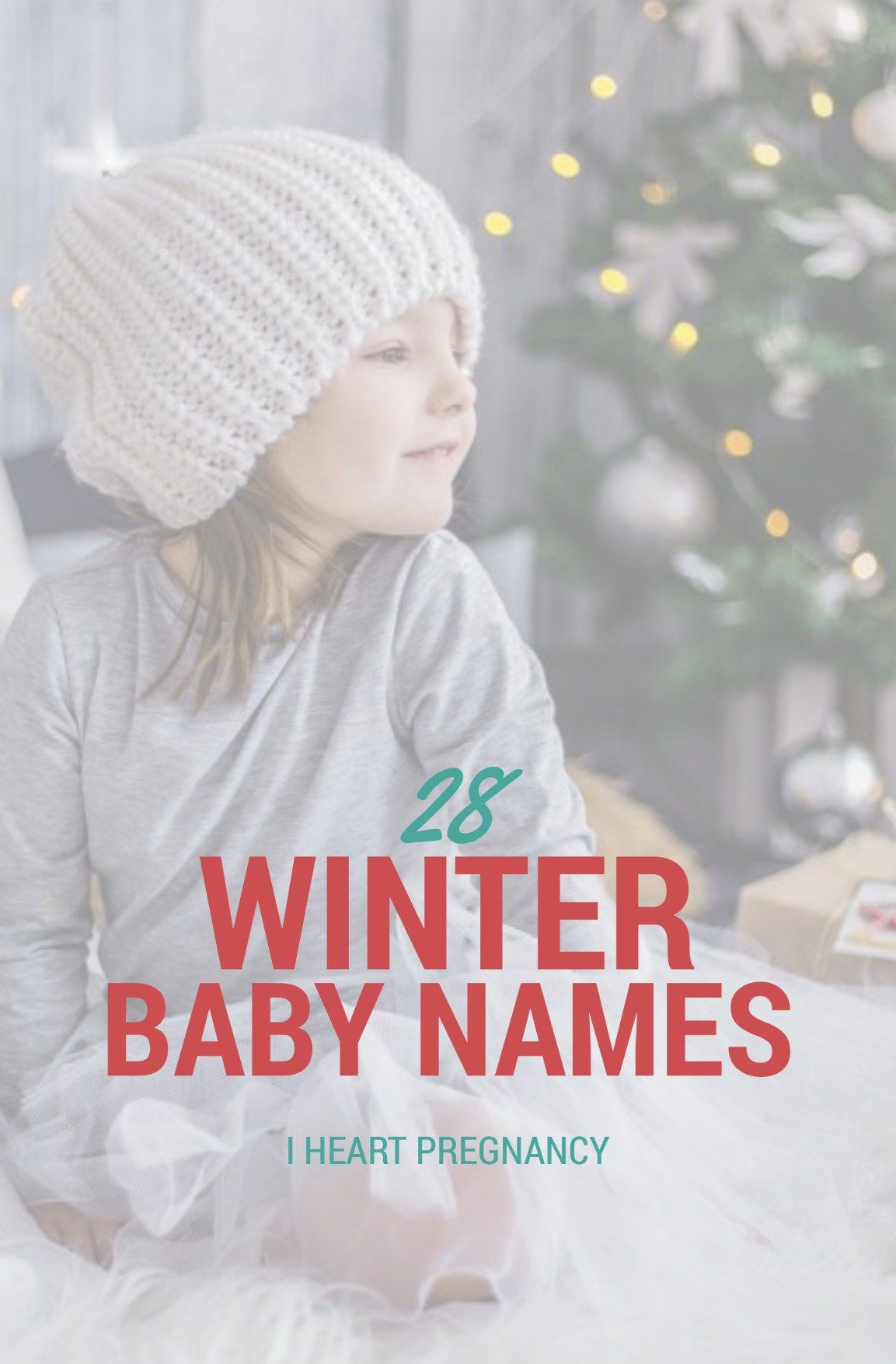 28 Winter Baby Names Your Kids Will Like As Adults