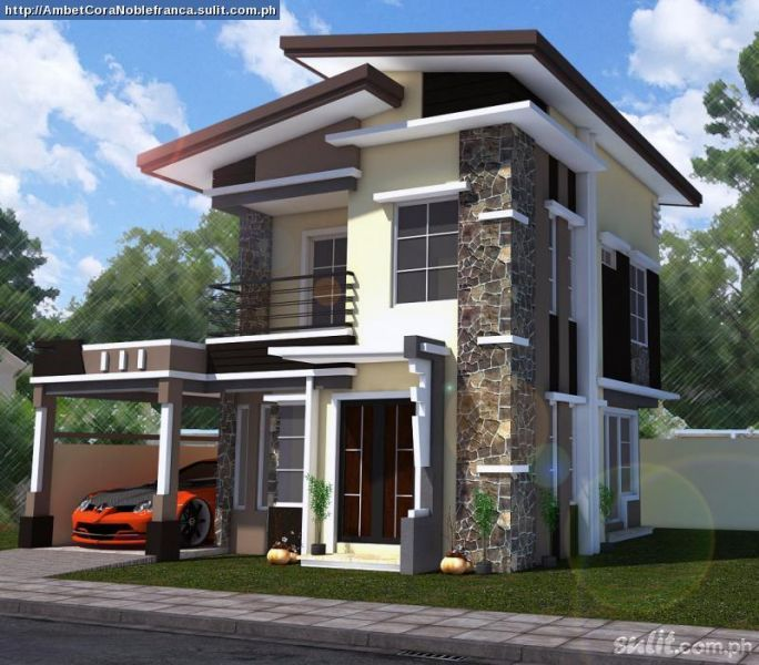 Modern zen house design philippines minimalist exteriors for Modern house design 2015 philippines