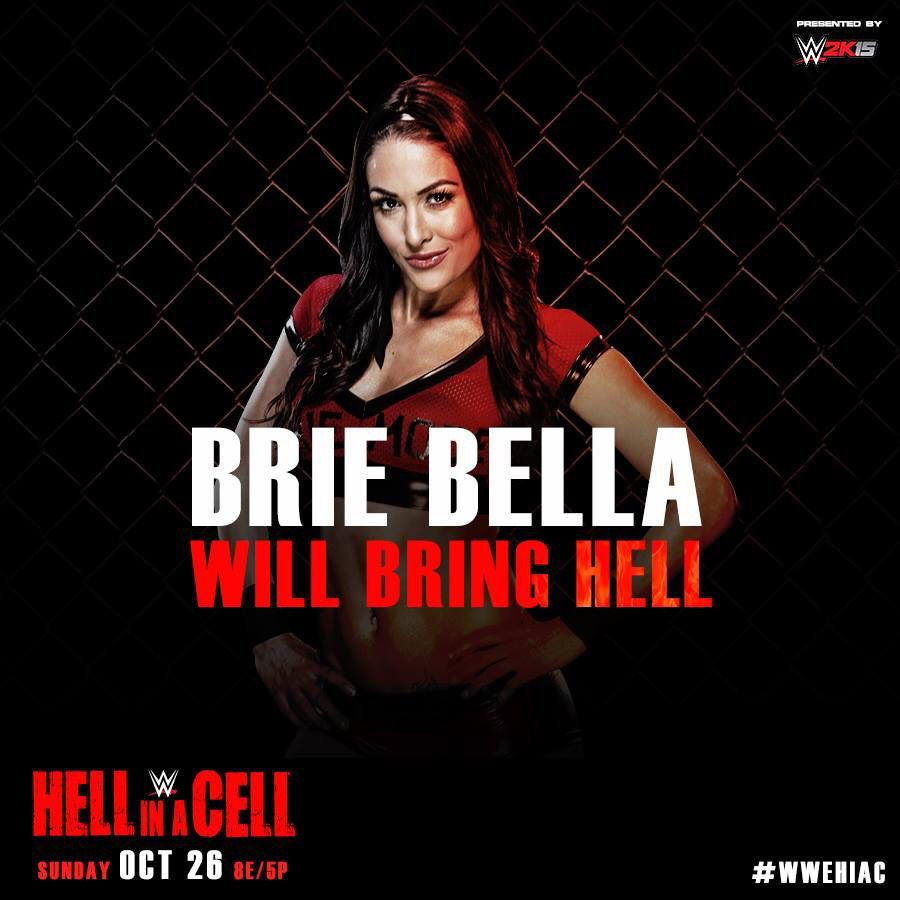 Brie Bella Hell In A Cell 2014
