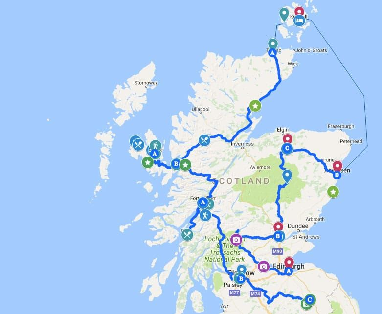 Epic Scotland Road Trip Best 14 Day Itinerary To See It All Scotland Travel Scotland Road Trip Visit Scotland
