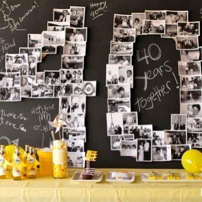 Comment organiser ses 40 ans ? Idées, cadeaux, déco !