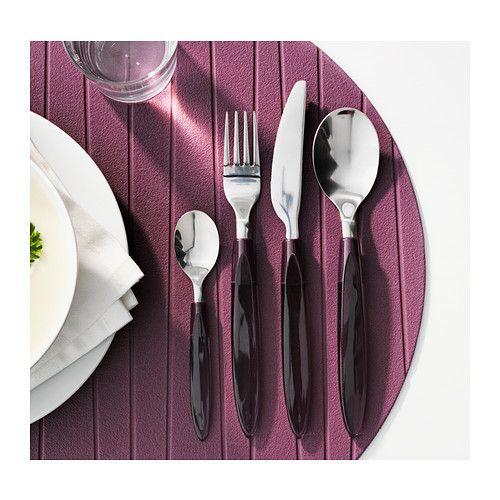 Ikea Dubai Kitchen Accessories: DITO 24-piece Cutlery Set, Lilac - IKEA
