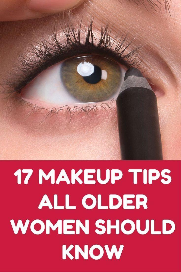 alle älteren Damen erkennen leichtes Makeup für