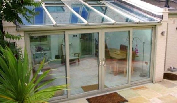 Best Http Www Bergsonandeaton Com Products Conservatories Lean To Aluminium Backyard Garden 640 x 480