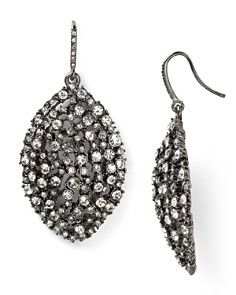 Abs By Allen Schwartz Mixed Gl Navette Drop Earrings