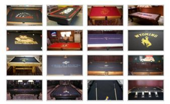 Pool Table Felt With Designs vivid custom pool table rails Order Custom Pool Table Felt With Your Special Design Or Image