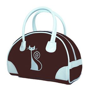 Bowling Bag Purse Just For Her From Red Tango