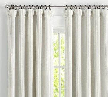 Riviera Stripe Drape With Blackout 50 X 84 Quot Sandalwood
