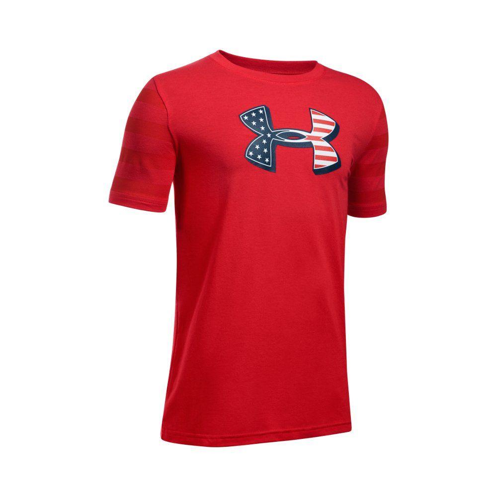eaf24f84 Boys' UA Big Logo Flag T-Shirt | Under Armour US in 2019 | Products ...