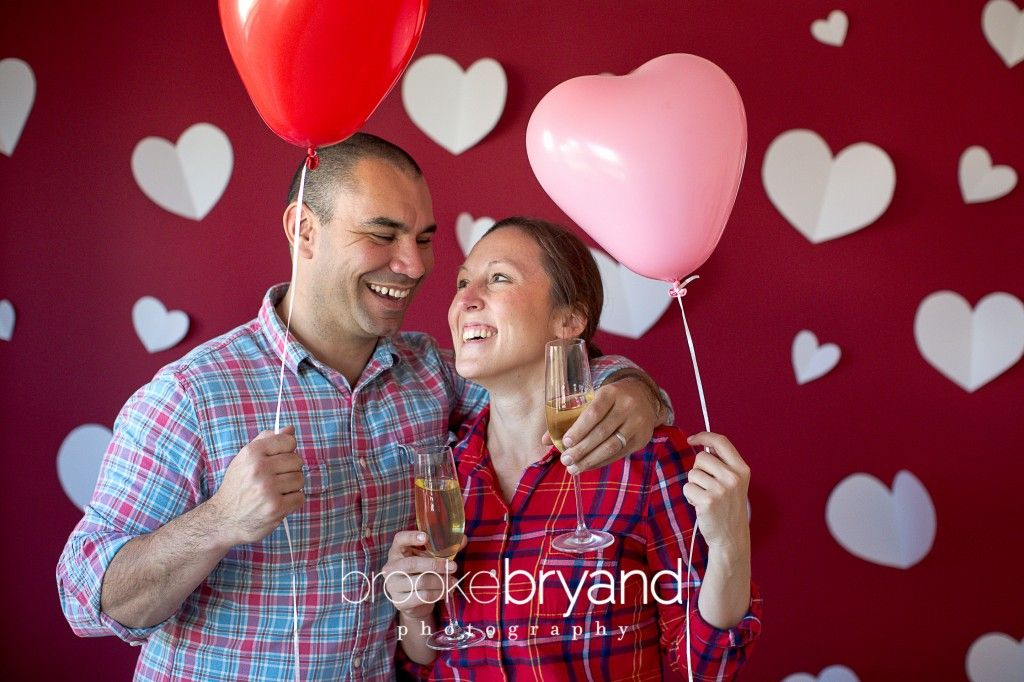 Valentine's Day Family Portrait Ideas