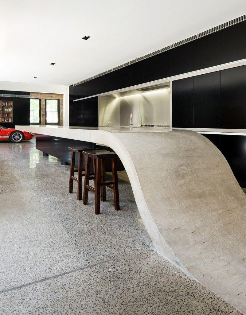 Concrete Countertop Mix White