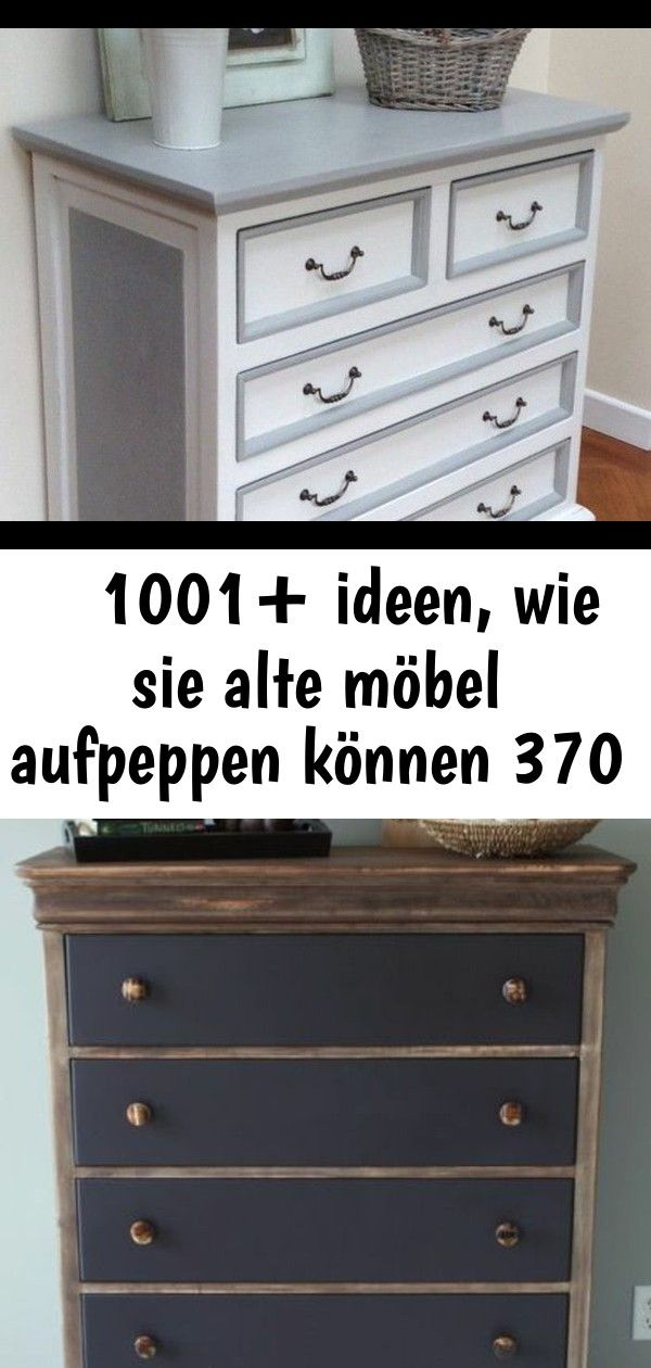 Mobel Restaurieren Alter Schrank Mit Schubladen In Weiss Rosen Korb