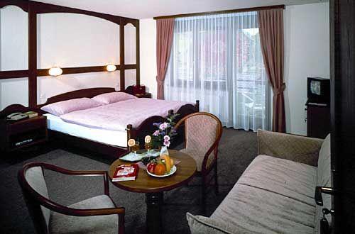 Hotel im Wallis Hotel Central Doppelzimmer schön und gemütlich mit guter Küche!