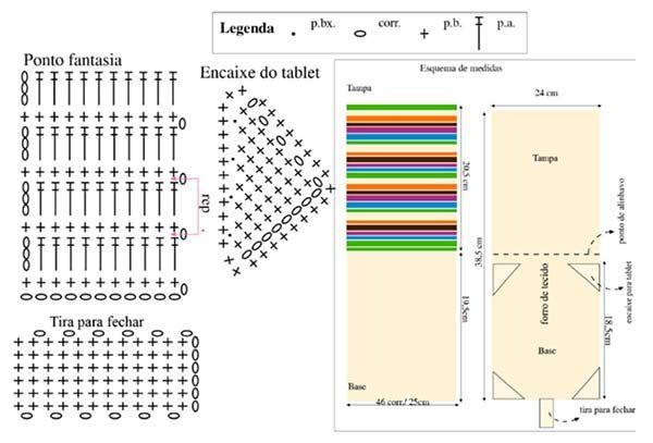 Material: - Pingouin Brisa – 3 novelos na cor 002 (branco); - Agulha para crochê nº 2; Medidas: 45 x 180 cm;         PONTOS EMPREGADOS: Correntinha (corr.) Ponto Baixíssimo (p.bx.) – introduzir a ag., 1 laç., puxar o p. e passá-lo diretamente